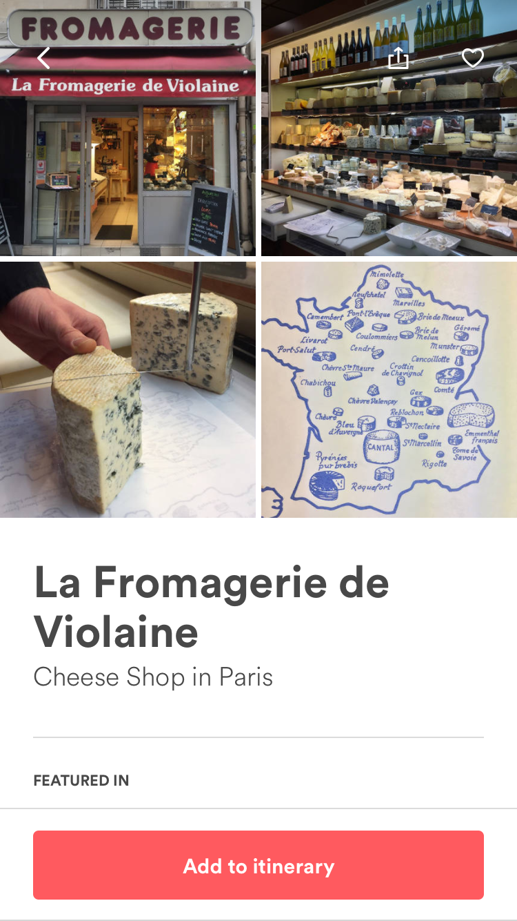 Paris Guidebooks – Pauline Bodin, Cheese Shops 4
